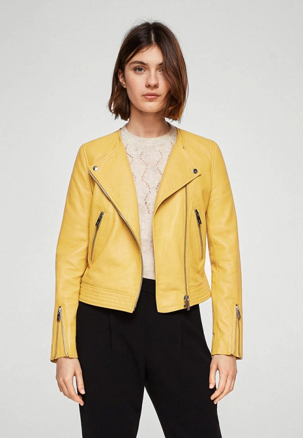 Куртка кожаная Mango Mango MA002EWAQUE8 куртки mango кожаная куртка nash2