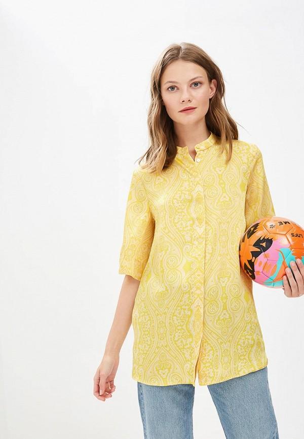 Купить Блуза Mango, - CACHEMIR, MA002EWBQYE7, желтый, Осень-зима 2018/2019