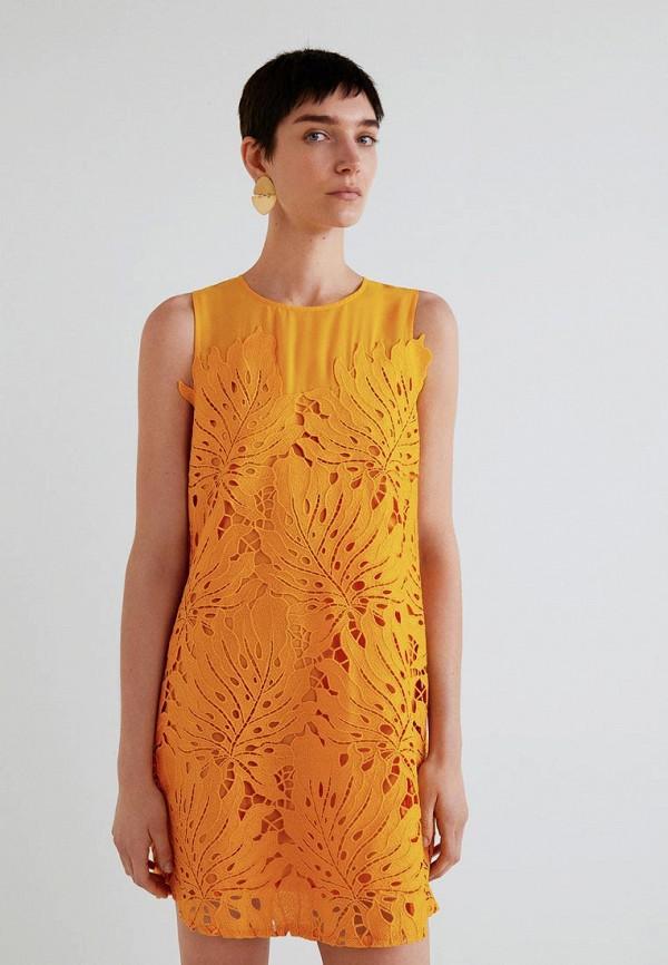 Платье Mango Mango MA002EWBQYF2 недорго, оригинальная цена