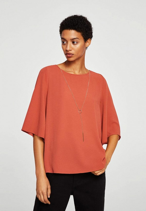 Купить Блуза Mango, - MERCUR-A, MA002EWBQYI4, красный, Осень-зима 2018/2019