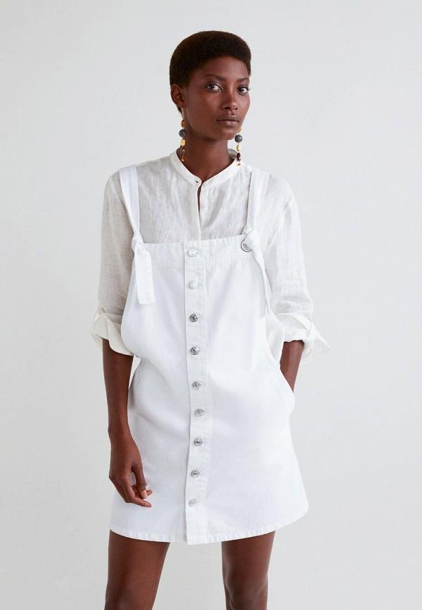 Платье джинсовое Mango Mango MA002EWBVIH4 rapport w153