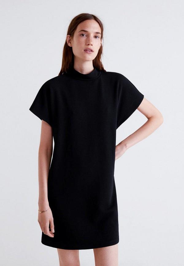 Купить Платье Mango, - DOTTIE, MA002EWCHTN0, черный, Осень-зима 2018/2019