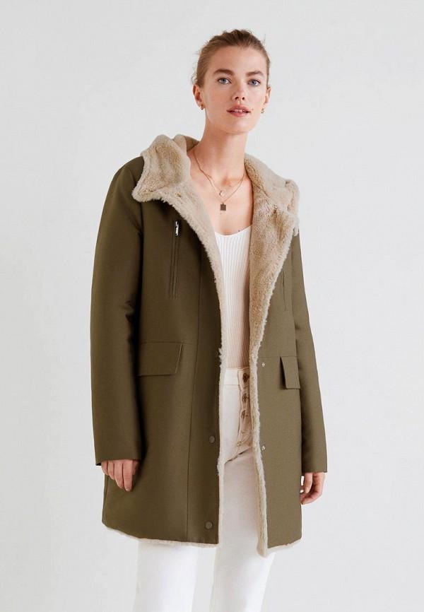Купить Куртка утепленная Mango, - MARILYN, MA002EWCILZ8, хаки, Осень-зима 2018/2019