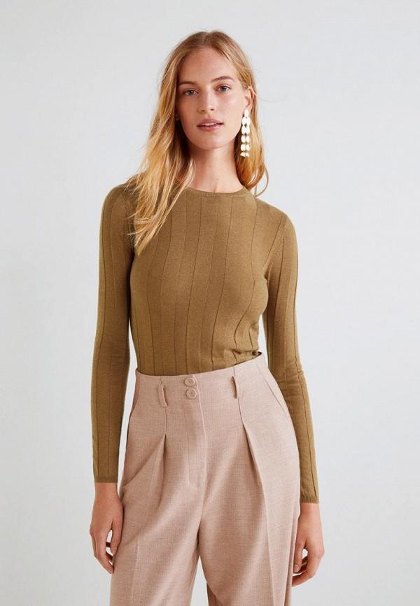 Купить Джемпер Mango, - GENOVA3, MA002EWCKIW4, коричневый, Осень-зима 2018/2019