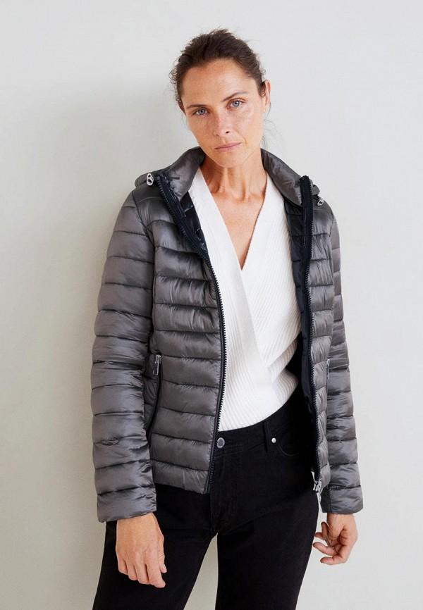 Купить Куртка утепленная Mango, - BLANDIHU, MA002EWCKIW6, серый, Осень-зима 2018/2019