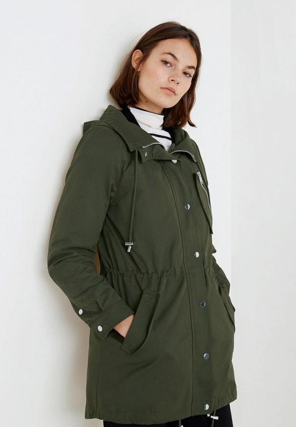 Купить Куртка утепленная Mango, - IMAGINE, MA002EWCMFA9, хаки, Осень-зима 2018/2019