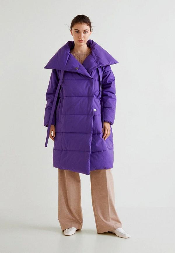 Купить Куртка утепленная Mango, - PETER-S, MA002EWCMFE3, фиолетовый, Осень-зима 2018/2019
