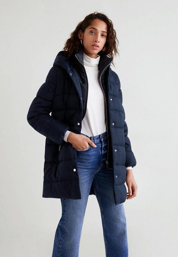 Купить Куртка утепленная Mango, - ELISABET, ma002ewcmfe6, синий, Осень-зима 2018/2019