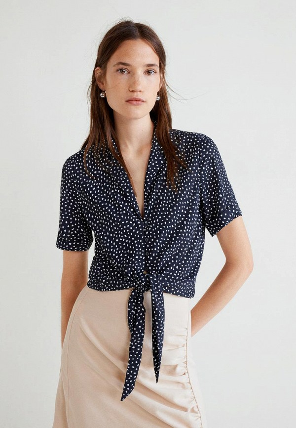 Купить Блуза Mango, - MECA3, MA002EWCMFE7, черный, Осень-зима 2018/2019