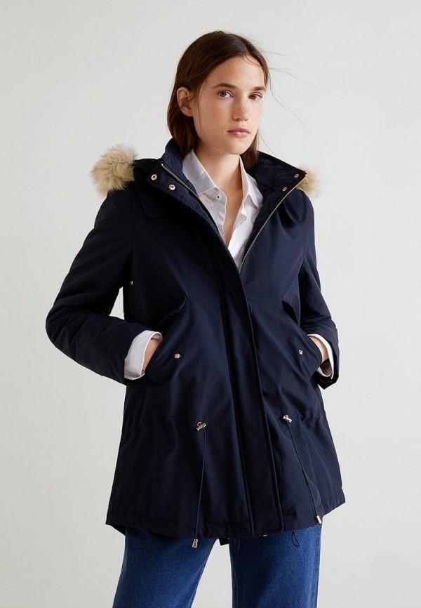Купить Куртка утепленная Mango, - SYLVIA, MA002EWCMFF2, синий, Осень-зима 2018/2019
