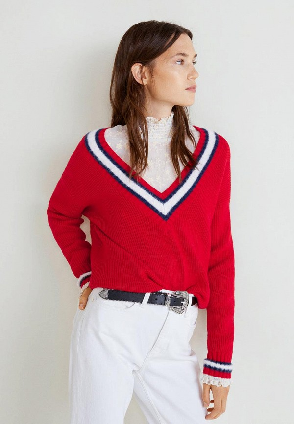 Пуловер Mango Mango MA002EWCMFG2 пуловер klingel цвет красный