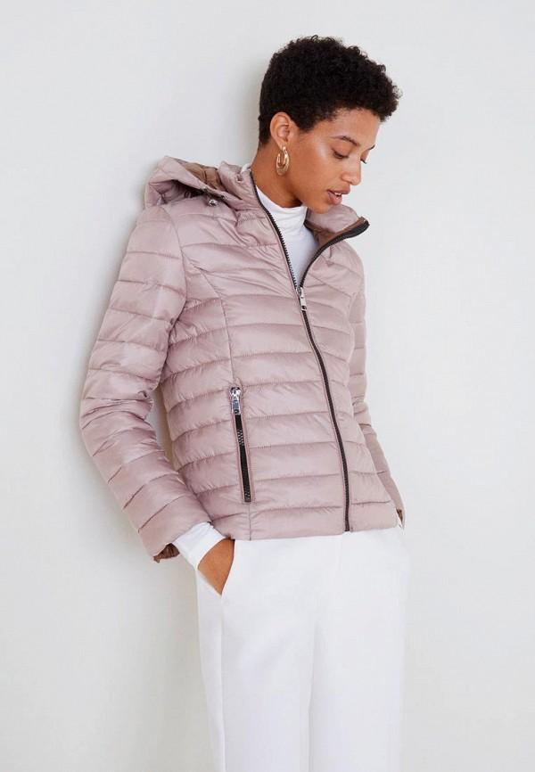 Купить Куртка утепленная Mango, - BLANDIHU, MA002EWCQQF8, розовый, Осень-зима 2018/2019