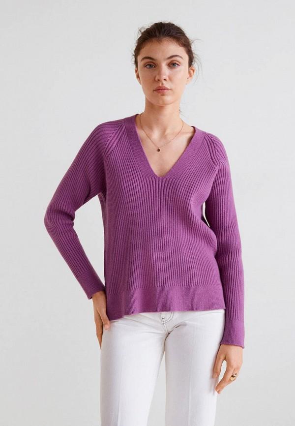 Купить Пуловер Mango, - ORION, ma002ewcthr3, фиолетовый, Осень-зима 2018/2019