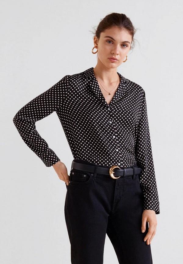 Купить Блуза Mango, - MAO, MA002EWCTHU9, черный, Осень-зима 2018/2019
