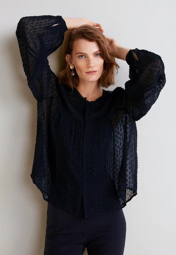 Купить Блуза Mango, - METIS, ma002ewczel2, черный, Осень-зима 2018/2019