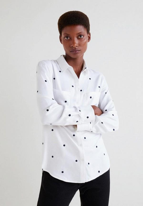 Купить Рубашка Mango, - MUSIC, ma002ewdake4, белый, Осень-зима 2018/2019