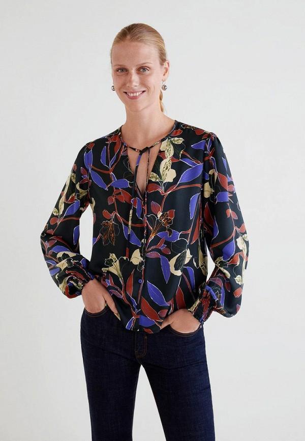Купить Блуза Mango, - MEGHAN, ma002ewdaki3, черный, Осень-зима 2018/2019