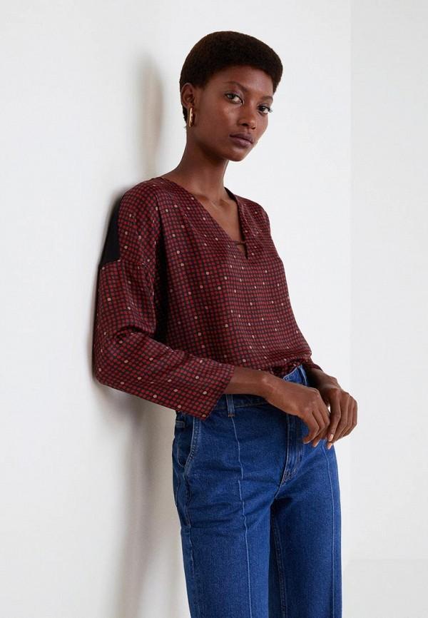 Купить Блуза Mango, - CHEMIN, ma002ewdakt8, черный, Осень-зима 2018/2019
