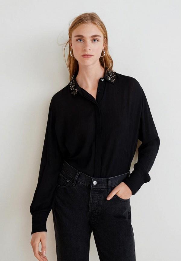 Купить Блуза Mango, - PECHE3, ma002ewdefd4, черный, Осень-зима 2018/2019