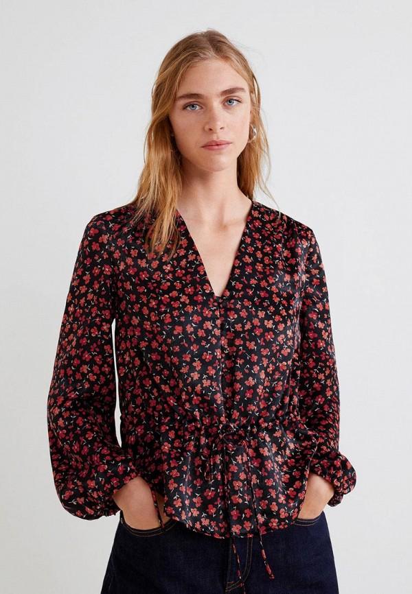 Купить Блуза Mango, - CAMELIO, ma002ewdimj5, черный, Осень-зима 2018/2019