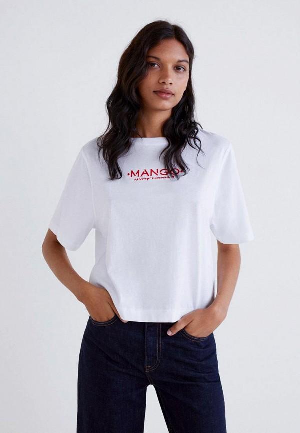 Футболка Mango Mango MA002EWDKFX3 недорго, оригинальная цена