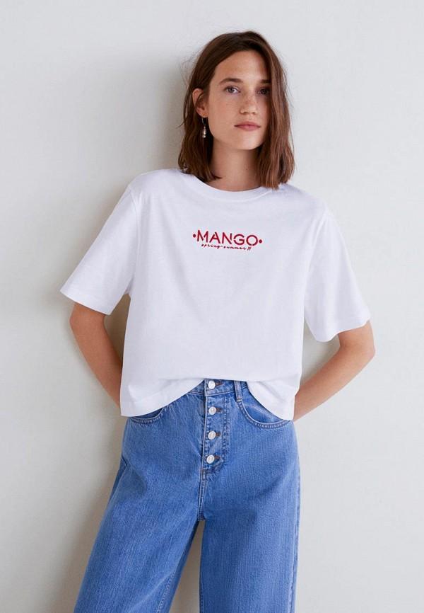 все цены на Футболка Mango Mango MA002EWDKGF1 онлайн