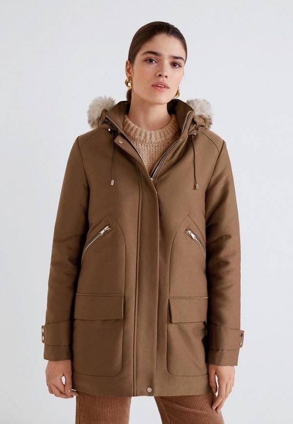 Куртка утепленная Mango Mango MA002EWDXWX7 куртка mango куртка