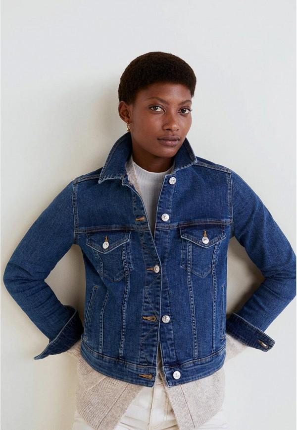 Куртка джинсовая Mango Mango MA002EWDYCV0