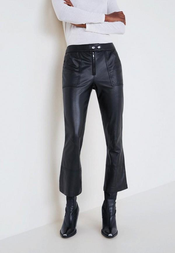 Кожаные брюки Mango