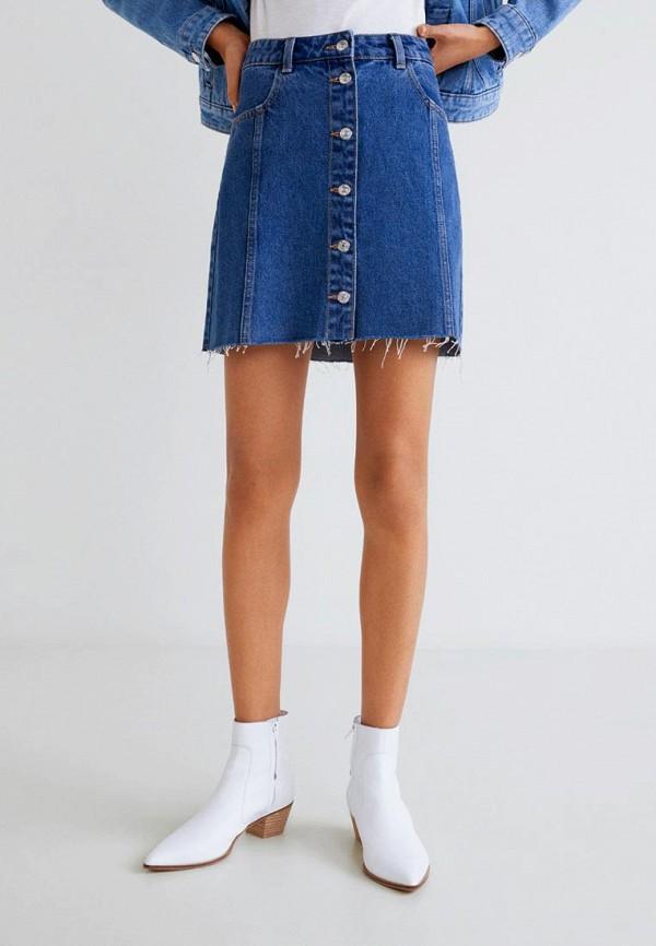 Джинсовые юбки Mango