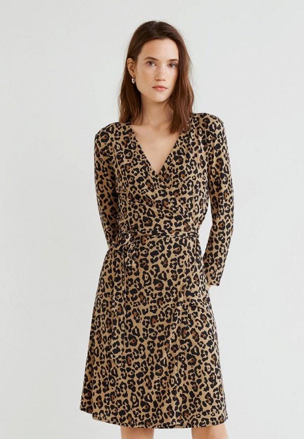 Леопардовое Платье Манго