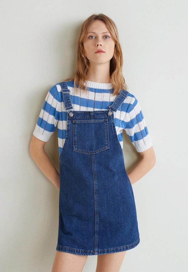 Платье джинсовое Mango Mango MA002EWECUL3