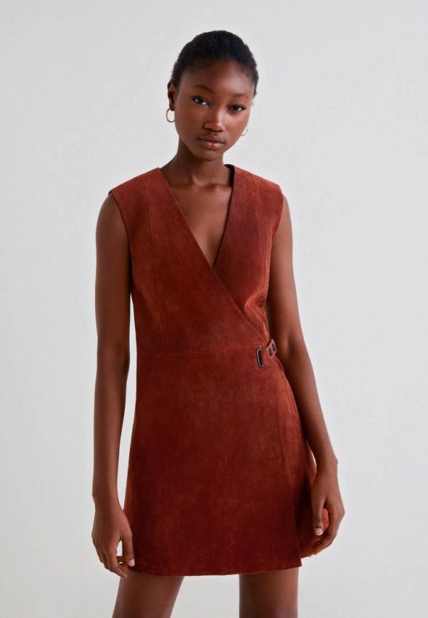 Кожаные платья Mango