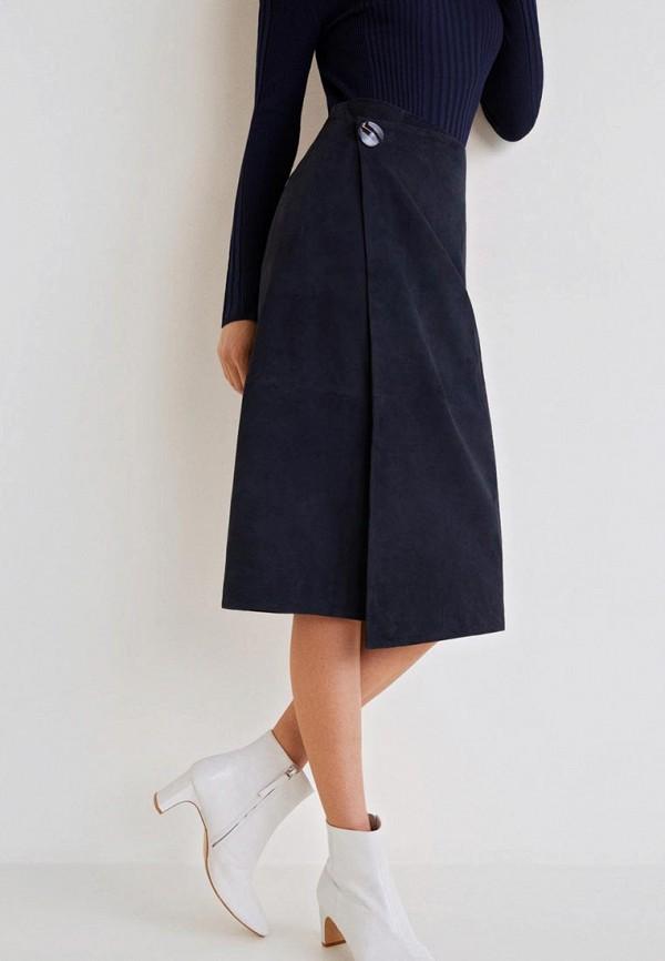 Кожаные юбки Mango