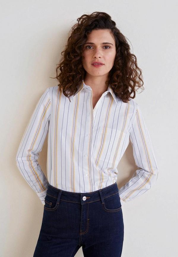 Рубашки с длинным рукавом Mango
