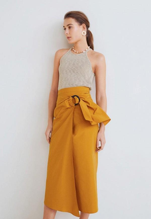 Купить Топ Mango, - PLANETA, ma002eweqqj2, бежевый, Весна-лето 2019