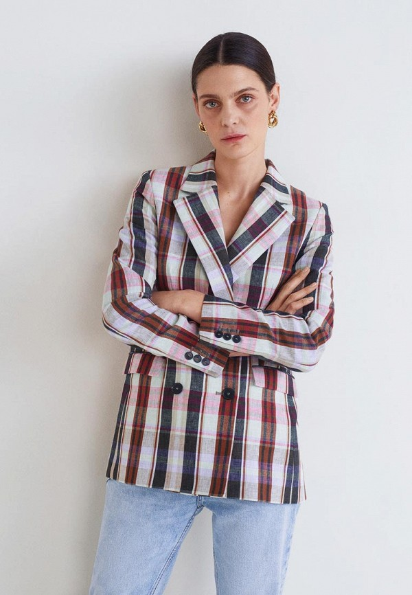 Купить Жакет Mango, - BOMBAY, ma002eweqqp2, разноцветный, Весна-лето 2019