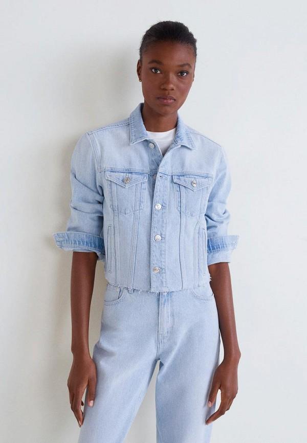 Куртка джинсовая Mango Mango MA002EWEQRC7