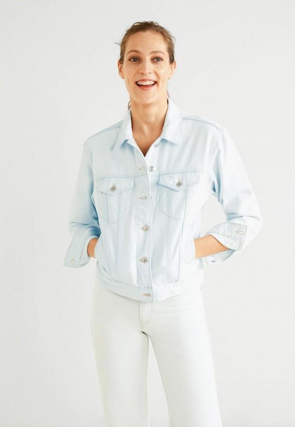 Куртка джинсовая Mango Mango MA002EWEUFO8