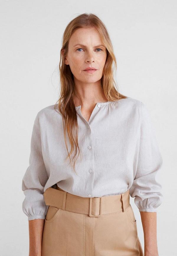 Купить Блуза Mango, - CAMEL, ma002eweuna6, серый, Весна-лето 2019