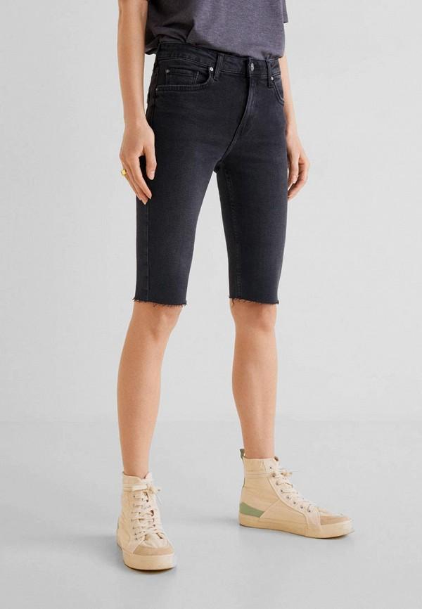 купить Шорты джинсовые Mango Mango MA002EWEUNS1 по цене 1999 рублей