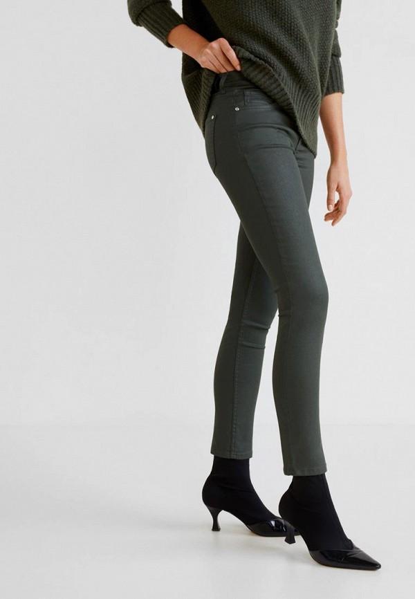 Фото - женские джинсы Mango цвета хаки