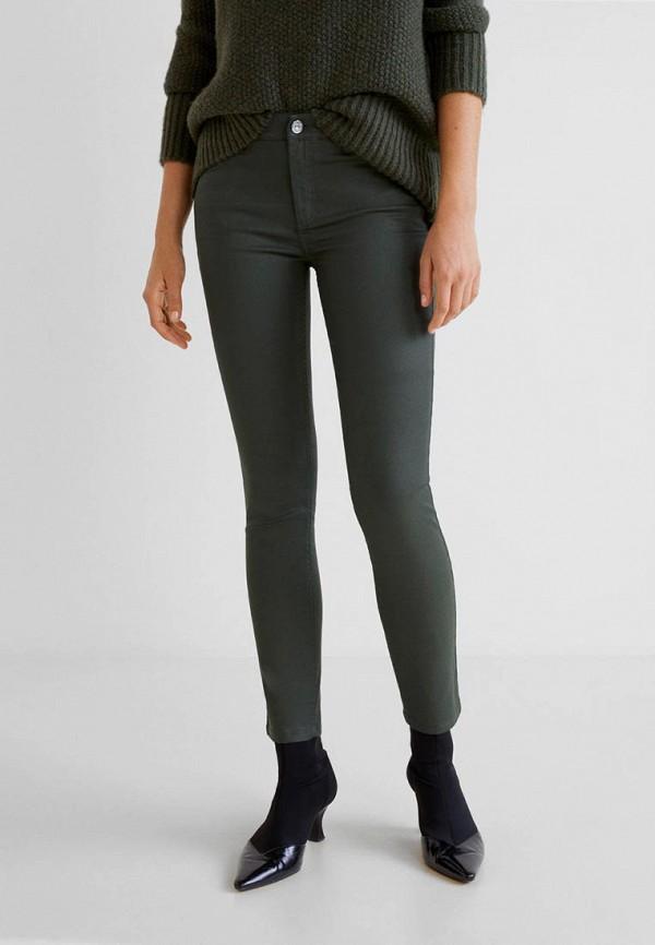 Фото 2 - женские джинсы Mango цвета хаки