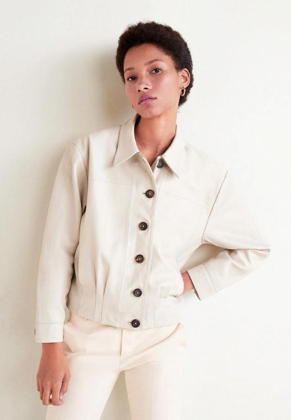 Куртка кожаная Mango Mango MA002EWEWKD6 недорго, оригинальная цена