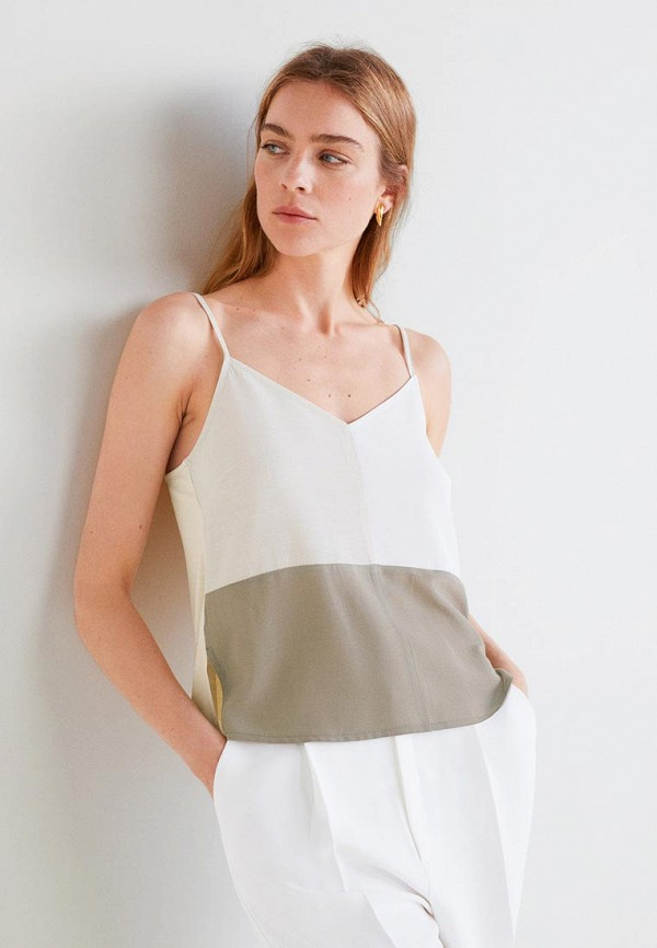 Купить Топы в бельевом стиле, Топ Mango, - TRITOP, ma002eweypq2, белый, Весна-лето 2019