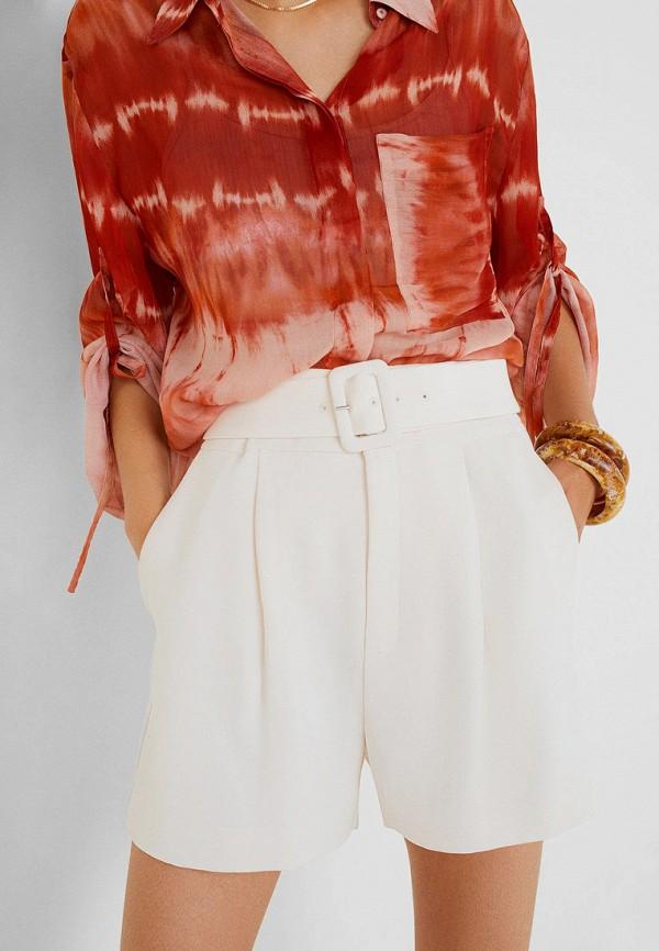 Фото - женские шорты Mango белого цвета
