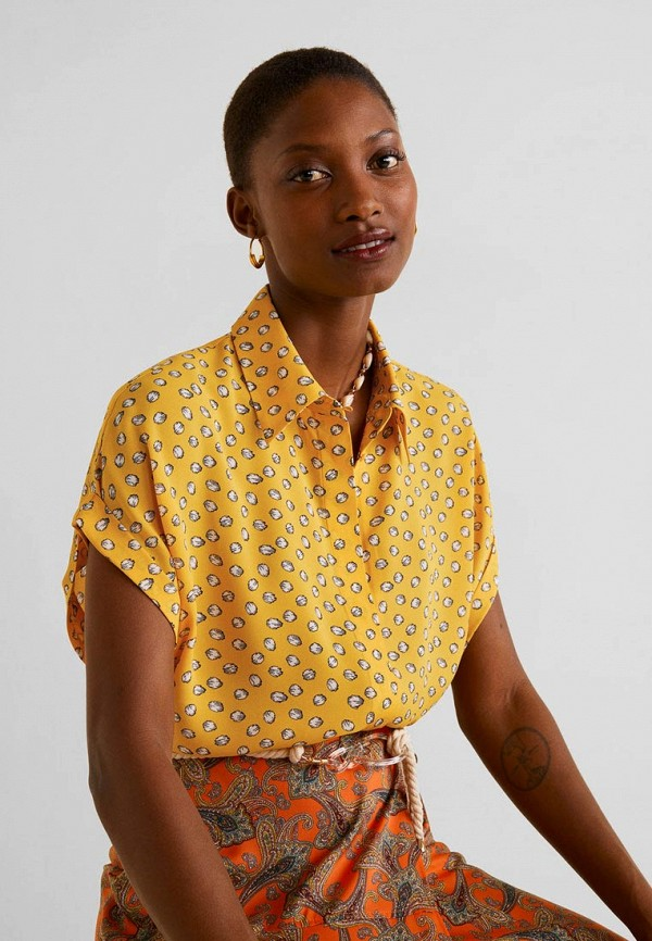 Рубашка  - желтый цвет