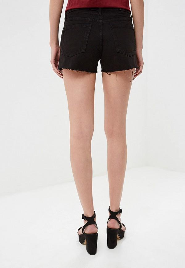 Фото 3 - Шорты джинсовые Mango черного цвета