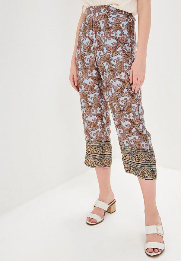 Фото - женские брюки Mango голубого цвета