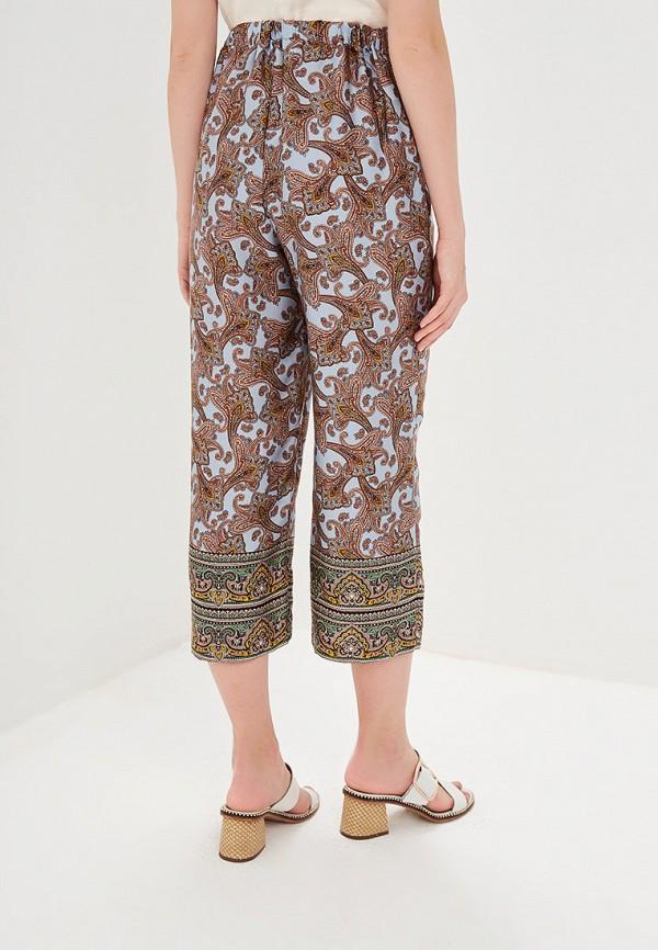 Фото 3 - женские брюки Mango голубого цвета
